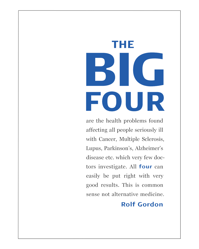 company research about big four Scientific american is the essential guide to the most awe-inspiring advances in science and technology, explaining how they change our understanding of the world and.